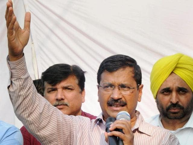 Delhi chief minister Arvind Kejriwal on Sunday said the BJP wants to impose President's rule across India.