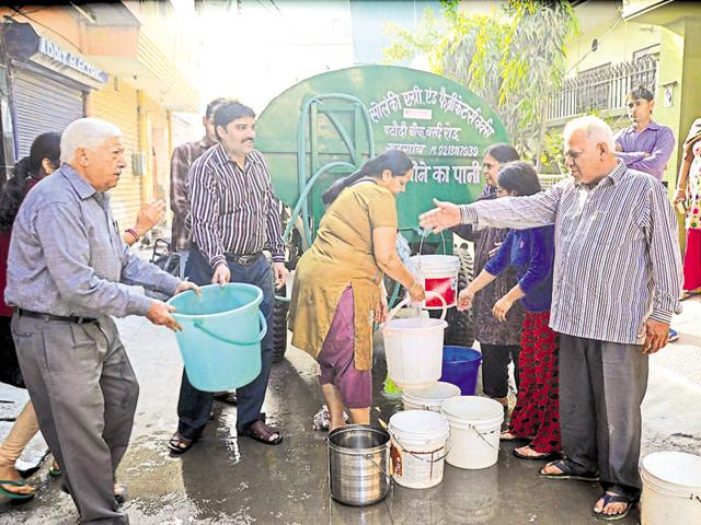 Gurgaon faced its worst water crisis in February when Jats in Haryana, demanding reservation, damaged the district's water channels. Taps ran dry for 10 days and residents were dependent on tankers.