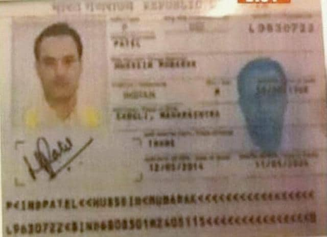 A TV grab of KuL Yadav Bhushan, whom Pakistan has arrested for his alleged links with India's foreign espionage agency RAW.