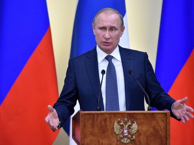 Putin congratulates Assad on retaking Palmyra