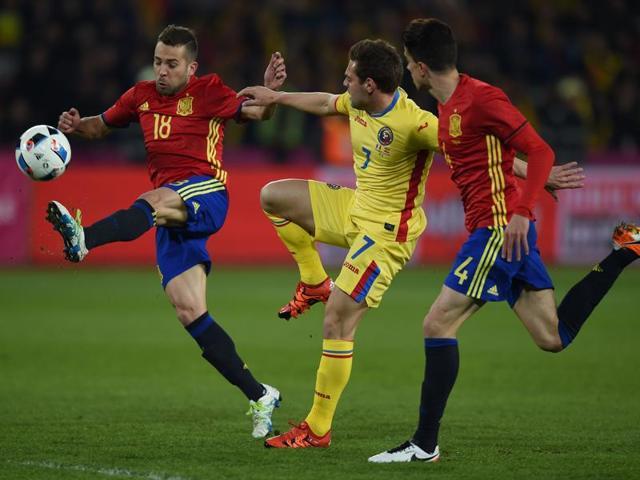 International Friendlies,Spain,Romania
