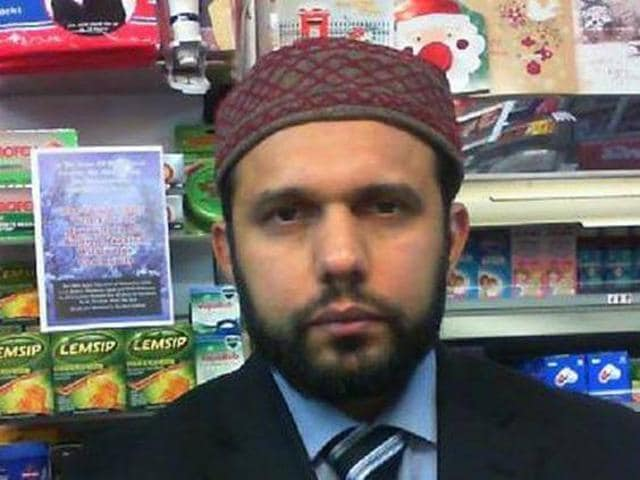 Asad Shah was stabbed 30 times and had his head stamped on during a savage attack at his store in Glasgow last Thursday.