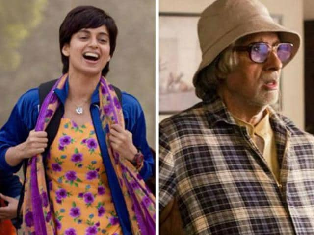 Kangana Ranaut and Amitabh Bachchan won in Best Actress and Best Actor category at the 63rd National Awards.