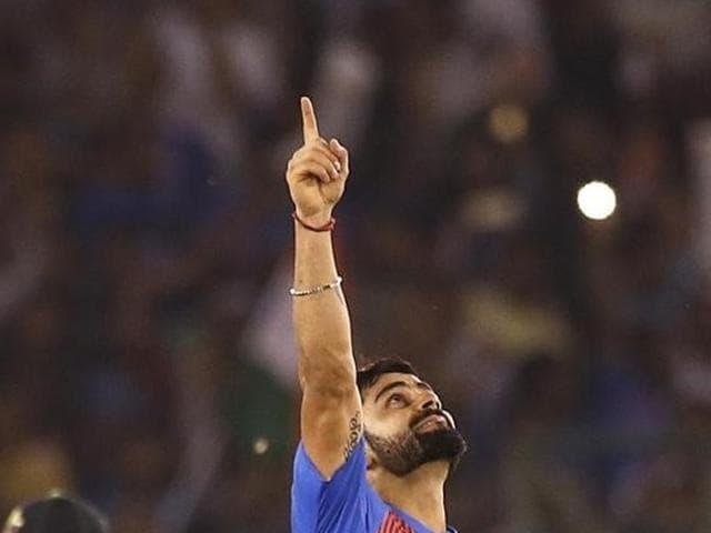 Virat Kohli scored a match-winning 82 off 51 balls.