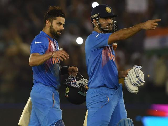 Virat Kohli's 82 against Australia ensured safe passage for India to the World T20 semifinals.