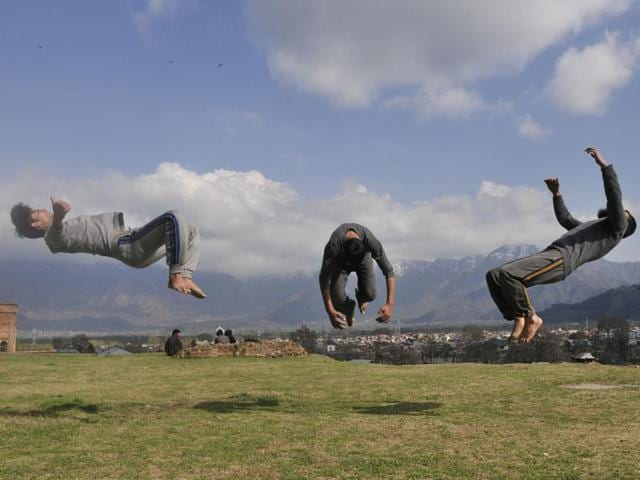 Parkour,Kashmir,French sport