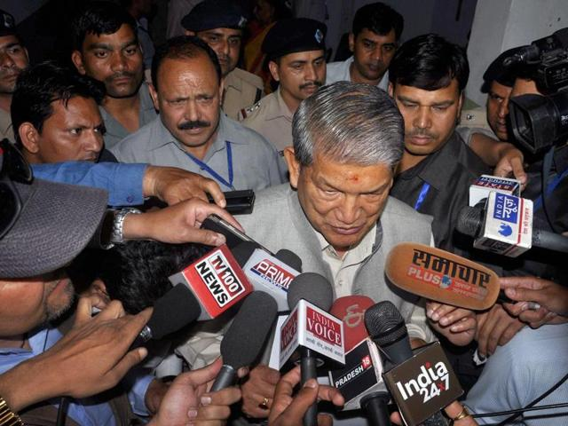 The BJP-led Centre cited a constitutional breakdown while imposing President's rule in Uttarakhand on Sunday, a day before Harish Rawat was to take a floor test in the state assembly to prove his majority.