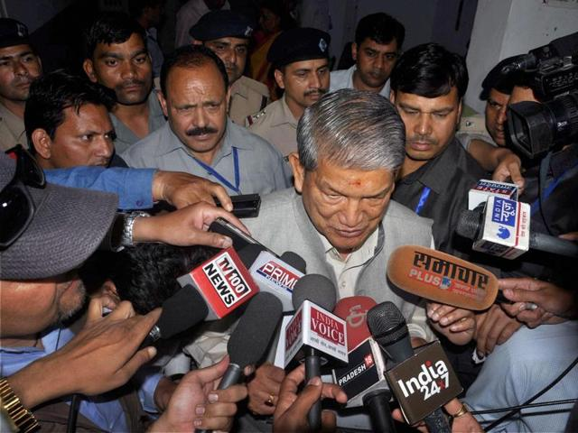 """The Centre imposed President's Rule on Sunday in politically fragile Uttarakhand while citing a """"constitutional breakdown"""", a day before the state's Congress-led government was slated to prove its majority in the assembly."""