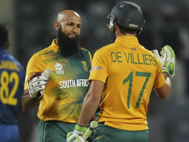With an unbeaten 56 off 52 balls, Hashim Amla took South Africa to a comfortable eight-wicket win.