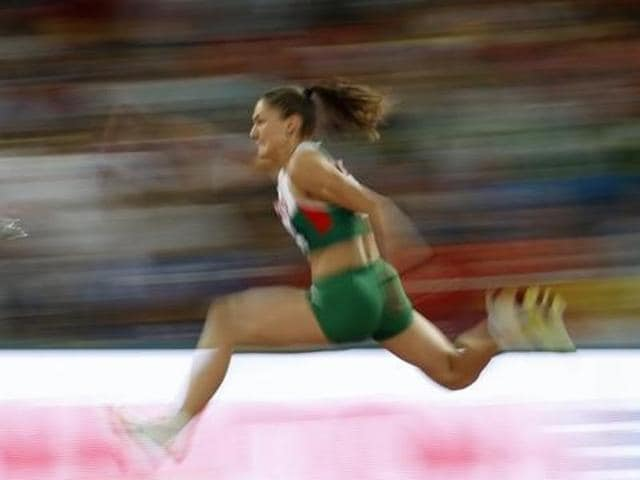 Bulgarian triple jumper Gabriela Petrova, runner-up at the 2015 European indoor championships in Prague, has denied any wrong-doing after testing positive for the banned substance Meldonium.