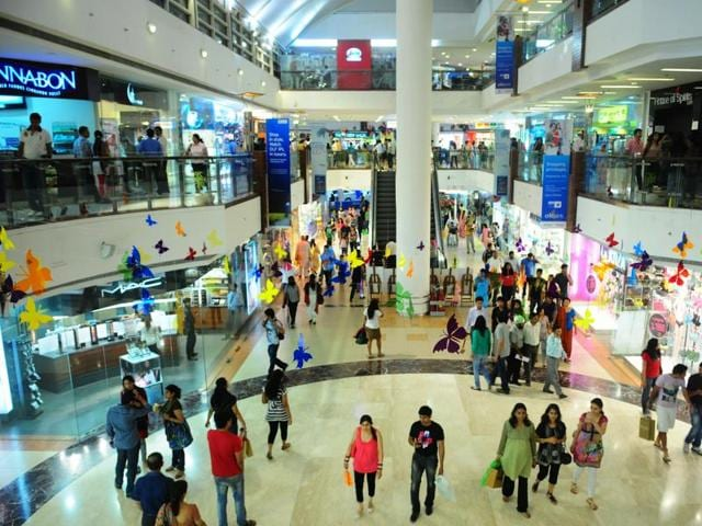 File photo of the Select City Mall at Saket, New Delhi. Products of interest to middle and high income groups are likely to get cheaper as the Delhi government is expected to slash Value Added Tax on certain groups of merchandise in its budget on March 28, 2016.