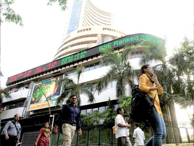 Sensex opened on a positive note on Monday by gaining over 95 points to 25,432.94.