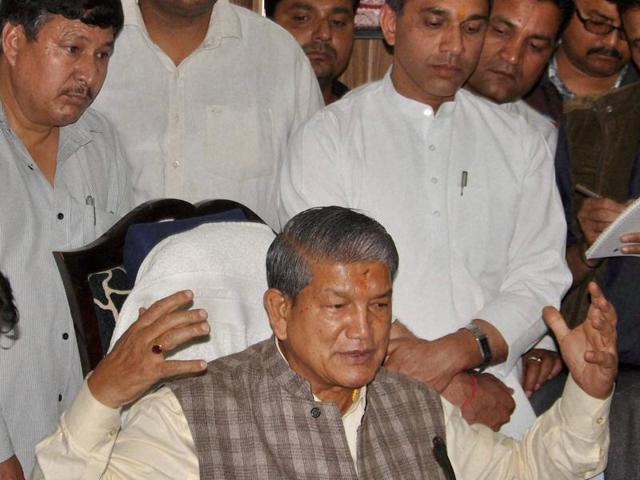 Sting operation on Harish Rawat seals Congress fate in Uttarakhand