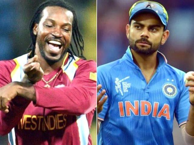 Chris Gayle said on Tuesday that he hopes star Indian batsman Virat Kohli will fail to score runs during the WT20 semifinal match.