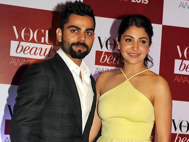 A file photo of Anushka Sharma and Virat Kohli.