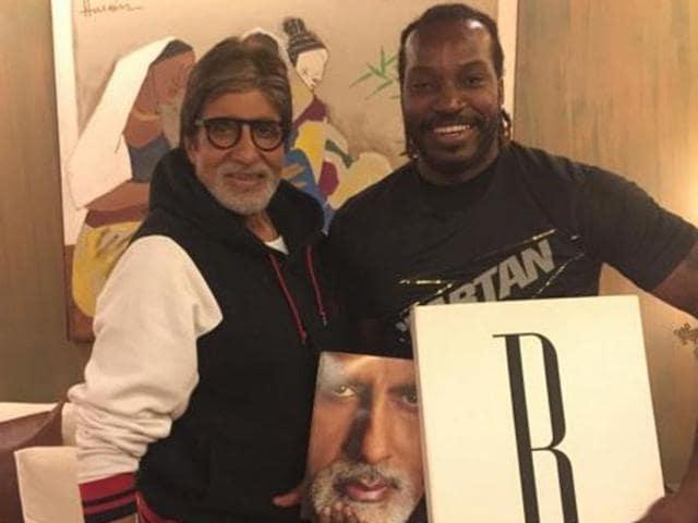 Amitabh Bachchan,Chris Gayle,Bollywood