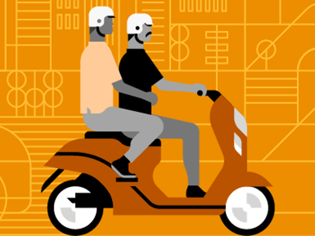 Uber has launched their bike-sharing initiative in Gurgaon. The UberMOTO option on the app will now let their customers call a scooter or bike via the app. The base fare for the ride is Rs 15 and charges Rs 3 per kilometer. The service isn't just cheaper than most alternatives, but also less polluting and quicker.