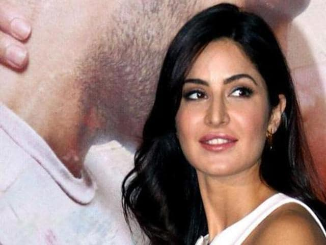According to Katrina Kaif, the media and the film industry need each other. (AFP)
