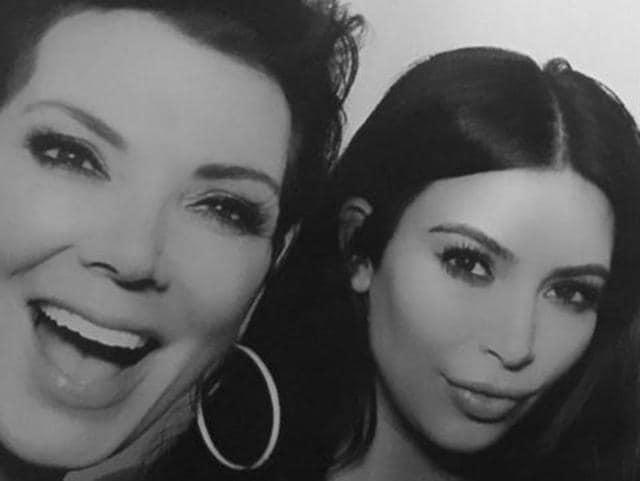 Kim Kardashian,Kris Jenner,Mom