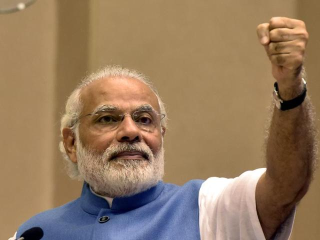 Prime Minister Narendra Modi will visit Brussels on Wednesday.(HT file photo)