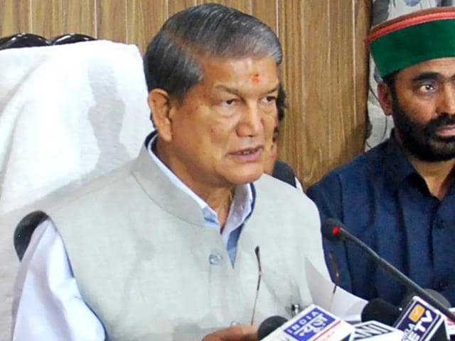 Harish Rawat condemned the President's Rule in Uttarakhand and said it badly hurt the people of the state.