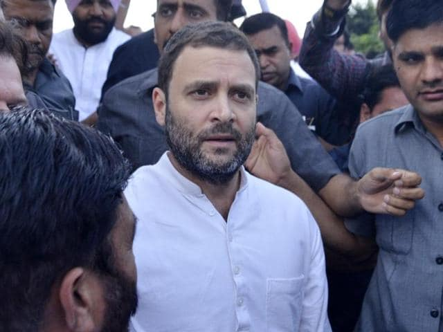 Congress vice-president Rahul Gandhi said wherever the BJP has gone it has brought violence.