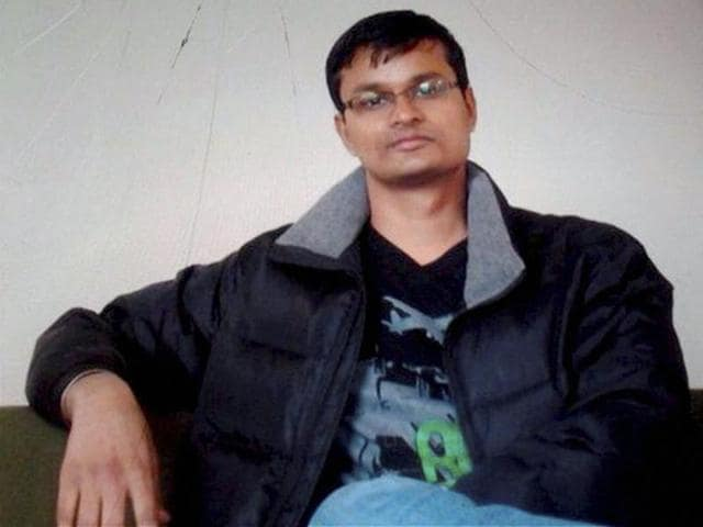 Infosys employee Raghvendra Ganesh who was killed in the Brussels attacks.