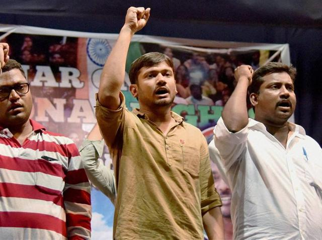 """Kanhaiya Kumar said there is a fundamental difference between """"emergency"""" and """"fascism""""."""
