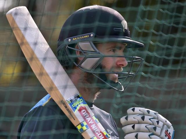 New Zealand captain Kane Williamson speaks during a press conference.