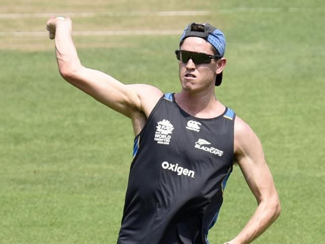 Mitchell Santner has claimed a few priced wickets in this World T20, including those of David Warner, Steve Smith and Rohit Sharma.
