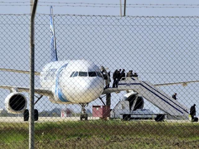 EgyptAir hijacker,Cyprus,Larnaca airport