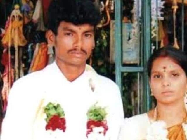 Sankar, a Dalit man who married Kausalya, a high-caste woman, was hacked to death by hired killers in Tirupur, Tamil Nadu, on Sunday March 13, 2016 in a case of suspected honour killing.