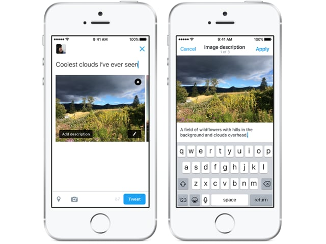 Twitter rolls out a new update to help the visually impaired understand images uploaded on its website.