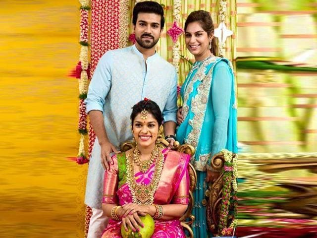Chiranjeevi S Daughter Sreeja Gets Married See Pics And