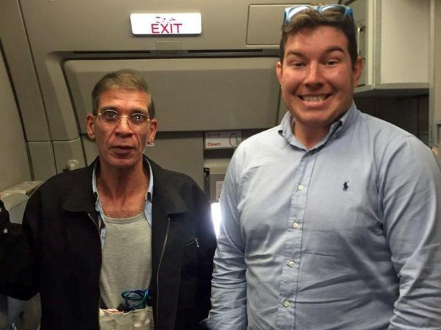 A man who posted a smiling selfie with the EgyptAir hijacker and which went viral on the social media has been identified as a 26-year-old Briton, the media reported on Wednesday.