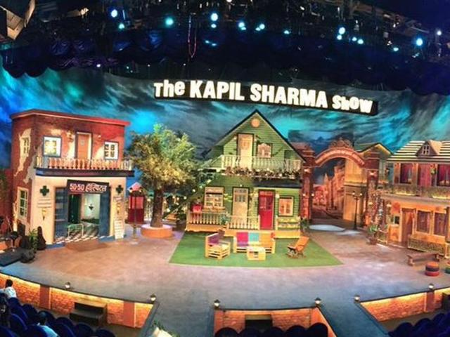 This is the new set of The Kapil Sharma Show. (Twitter)