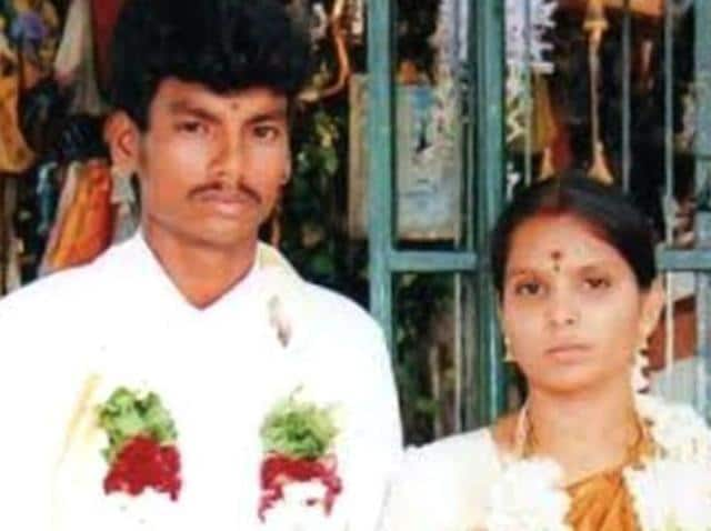 Shankar, a Dalit, who married Kausalya, a high-caste Hindu, was hacked to death by hired killers in Tirupur, Tamil Nadu, on Sunday March 13, 2016 in a case of suspected honour killing. (Special arrangement)
