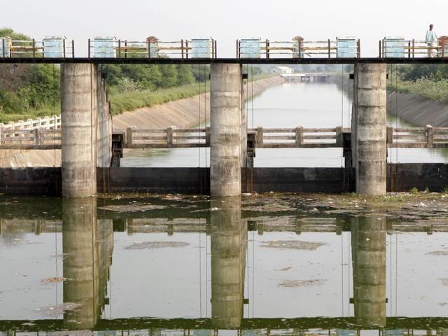 The Gosikhurd dam in Nagpur.