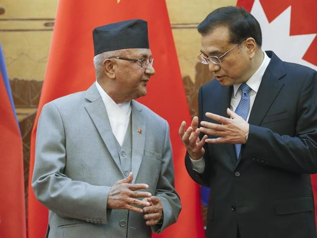 Nepal-China relations,India-Nepal relations,KP Sharma Oli