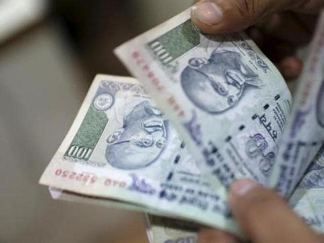 The rupee appreciated by 16 paise to 66.38 against dollar in early trade on Wednesday.