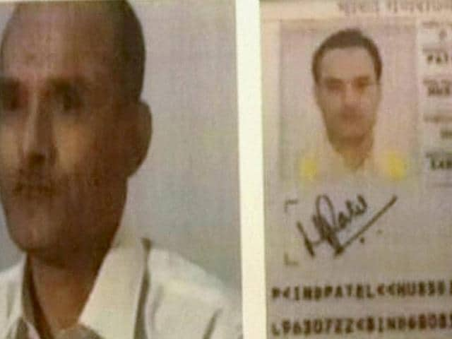 A TV grab of Kubhushan Yadav  whom Pakistan has arrested for his alleged links with India's foreign espionage agency R& AW.