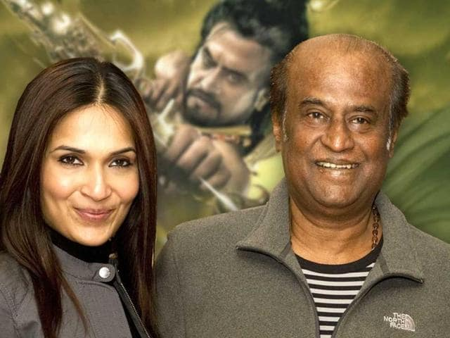 A case has been filed against Rajinikanth and his fans for wasting thousands of litres of milk at the release of his films.
