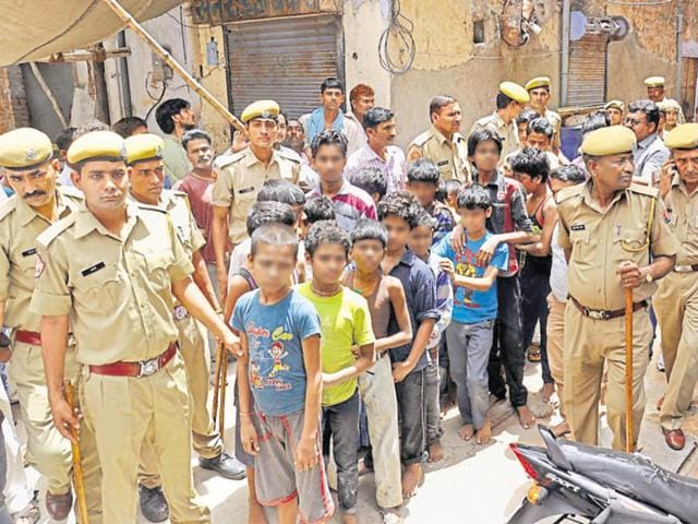 Earlier this year, Jaipur police rescued 59 children, majority of whom belong to Bihar.