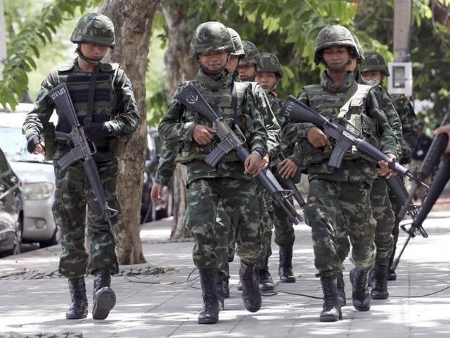 Thai Junta,Prawit Wongsuwan,Sunai Phasuk