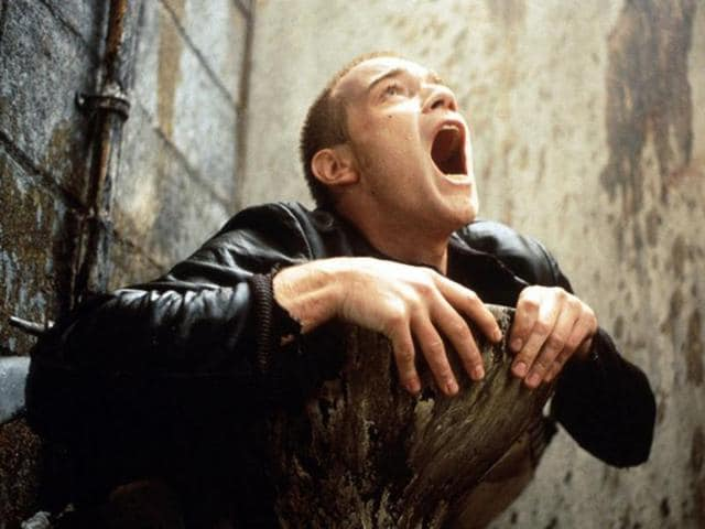 The famous toilet scene from Trainspotting.
