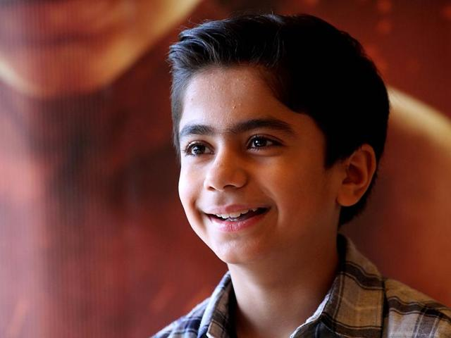 12-year-old actor Neel Sethi talks to us about playing Mowgli in the upcoming film, The Jungle Book.(HT Photo)