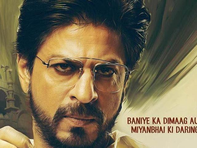 Shah Rukh Khan plays a gangster in Raees. (Twitter)
