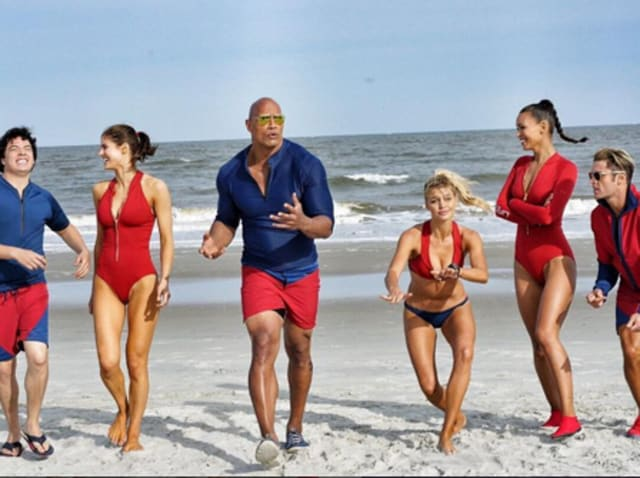 Priyanka Chopra S Missing In The Rock S Baywatch Cast Picture But