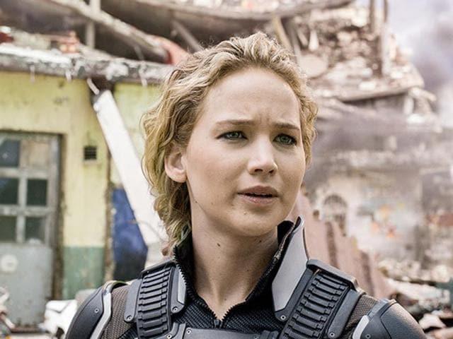 Jennifer Lawrence in a still from X-Men: Apocalypse.