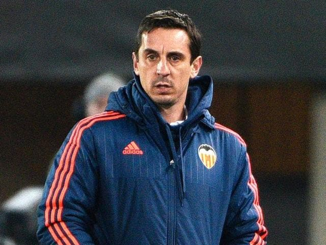 Gary Neville has been sacked as coach of Valencia after just over four months in charge.